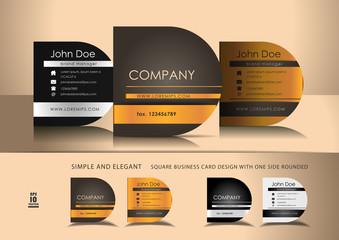 Minimalistic and creative business card design