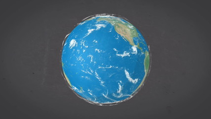Earth view from space.