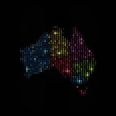 Stars Australia Map 1