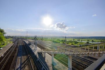 railway station in Kashira