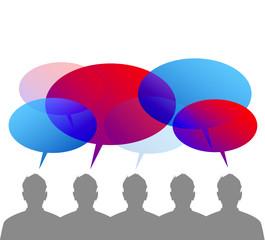 discussione, dialogo, comunità, dialogo