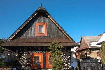 folk house Cicmany Slovakia