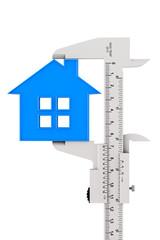 Caliper Measures House Building