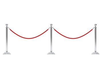Closeup Barrier rope