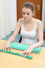 Ergotherapie mit Knete und Therapieknete