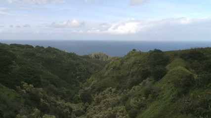Time Lapse of Tropical Hawaiian Valley
