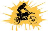 Fototapety Motorcycle background