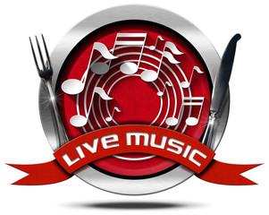 Live Music and Food - Metal Icon © Alberto Masnovo