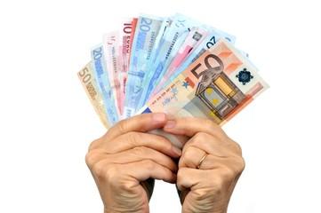 De l'argent plein les mains