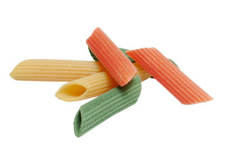 Verschiedene Nudeln (italienische Farben)