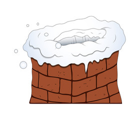 House Chimney Vector