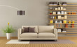 Contemporary living room - 78897645