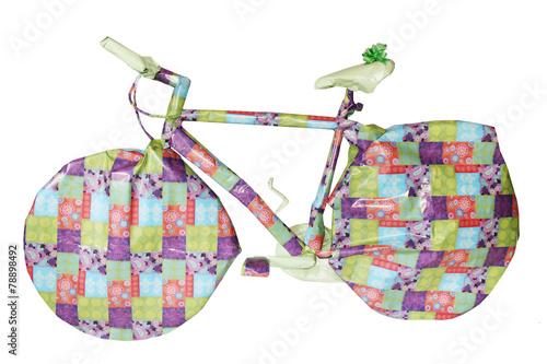 Deurstickers Fietsen Fahrrad Geschenk