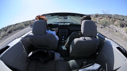 Desert Driving - Rear Camera Mount Time Lapse