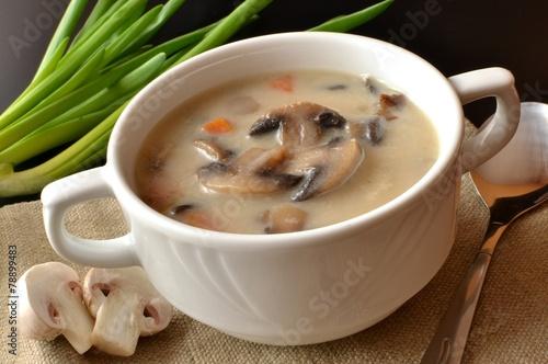 Mushroom soup - 78899483