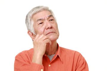 嫌な予感のする高齢者