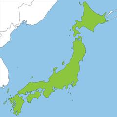 Japan in grün