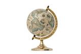 Old Style World Globe - Isolated on White - 78905420
