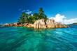 Beautiful tropical island - 78907278