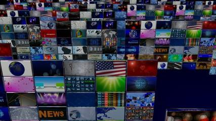 Video wall 3D
