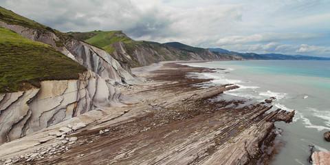 Coast between Zumaia and Deba