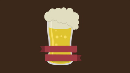 Beer label, Video animation, HD 1080