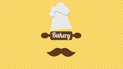 Bakery cook, Video animation, HD 1080