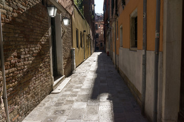 Small alleyway in Venice