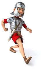 Roman legionary soldier.