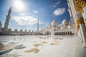 Grand Sheikh Zayed Mosque of Abu Dhabi, UAE