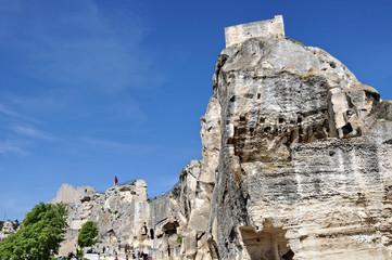 Les Baux, castello 1