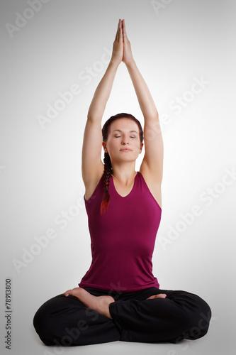 canvas print picture Yoga