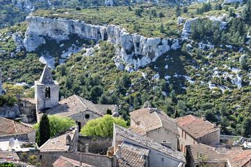 Les Baux, panoramica