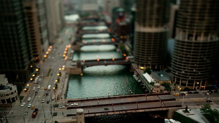 Time Lapse overview of Chicago
