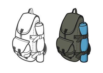Travel rucksack