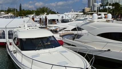 Miami Beach International boat show 4k