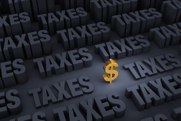 Taxes Loom Large.