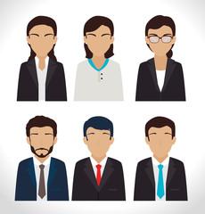 Teamwork design, vector illustration.
