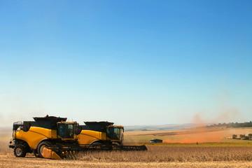 Harvester..Mato Grosso, Brazil