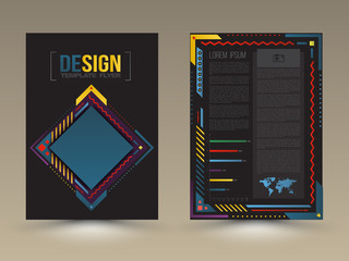 Brochure, flyer, magazine cover and poster template.