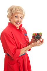Snacking on Healthy Berries