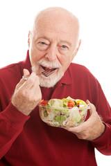 Healthy Salad For Fit Senior
