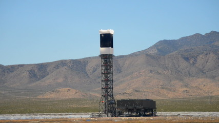 Ivanpah Solar Tower Project - Mojave Desert