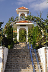 Arch in Sveti Vlas street, Bulgaria
