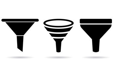 Funnel icons
