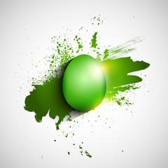 Grunge Easter background
