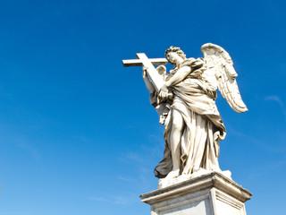 Angel with cross, Sant'Angelo bridge, Rome