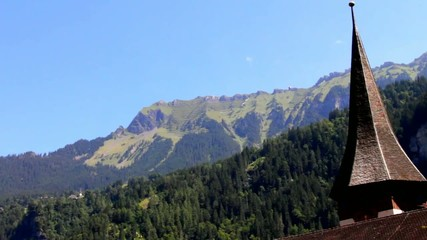 Lauterbrunnen valley , Switzerland