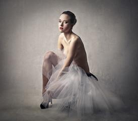 Ballerina's portrait