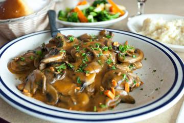 Chicken Marsala Dish